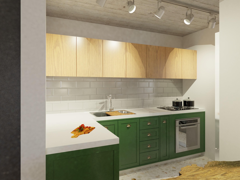 Cozinha 1 pequena