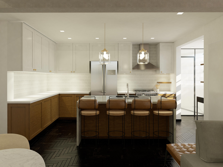 cozinha de frente